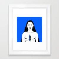 The Universe Inside Framed Art Print