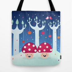 The Twins Tote Bag