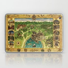 Hogwarts Map Laptop & iPad Skin