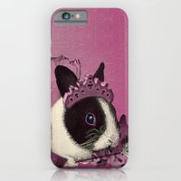Pink Bunny Princess Print iPhone 6 Slim Case
