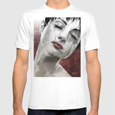 Venom and Tears White Mens Fitted Tee SMALL