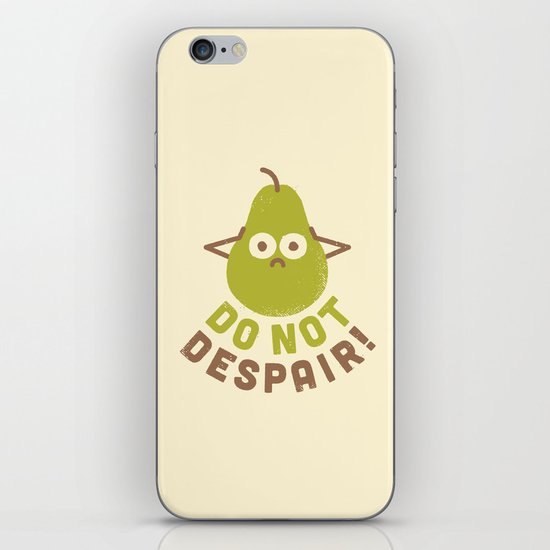 A Fruitful Admonition iPhone & iPod Skin