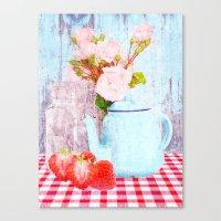 Cream Tea Canvas Print