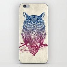 Evening Warrior Owl iPhone & iPod Skin