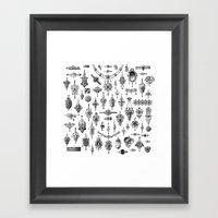 Jewels and Trinkets Framed Art Print
