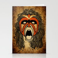 The Ultimate Warrior Stationery Cards