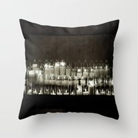 It Seems To Me, You Live… Throw Pillow