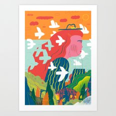 Women and Freedom Art Print