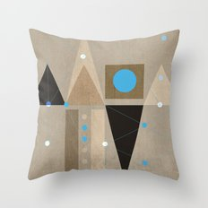 Geometric/Abstract 7 Throw Pillow