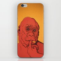 Warm Gorilla iPhone & iPod Skin