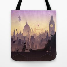 Wind's In The East... Tote Bag