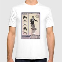 Patron sur Mesure Mens Fitted Tee White SMALL