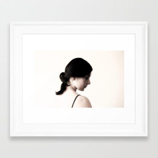 reflections/ 2 Framed Art Print