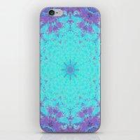 Plasma Flower iPhone & iPod Skin