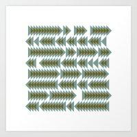 #393 Shoal Movements –… Art Print