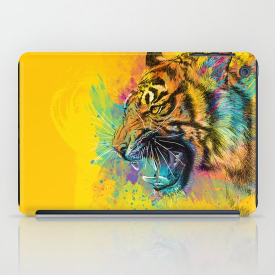 Angry Tiger iPad Case