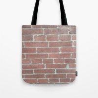 Soft Rock Brick Front Tote Bag