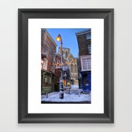 York Minster At Christma… Framed Art Print