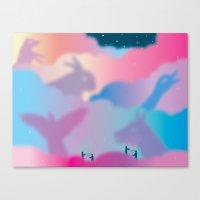 Aurora Borealis Explained Canvas Print