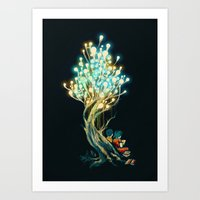 ElectriciTree Art Print