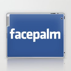 Facepalm Laptop & iPad Skin