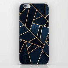 Navy Stone iPhone & iPod Skin
