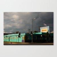 The Grand Motel Canvas Print