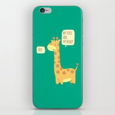 Giraffe problems! iPhone & iPod Skin