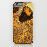 iPhone & iPod Case featuring Mr EBENEZER by Luca Piccini