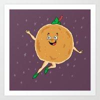 Peter Pancake Art Print