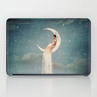Moon River Lady iPad Case