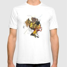 Erykah Badu - Soul Sister | Soul Brother SMALL Mens Fitted Tee White