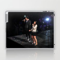 Glee Concert: Lea Michele and Chris Colfer Laptop & iPad Skin