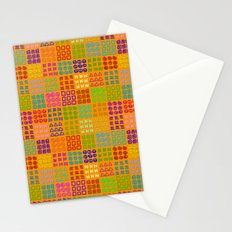 Aztec Wannabe (Orange) Stationery Cards