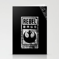 Rebel Base Stationery Cards