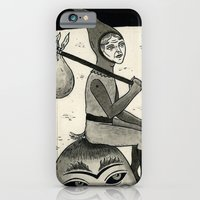 iPhone & iPod Case featuring Weary Vagabond  by Jon MacNair