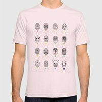 (The Ghosts Of Our) Fore… Mens Fitted Tee Light Pink SMALL