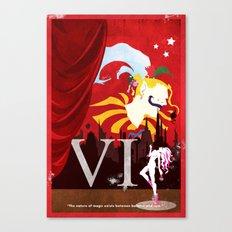 Vintage FF Poster VI Canvas Print