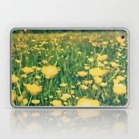 Field Of Yellow Laptop & iPad Skin