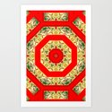 Lucky Caleidoscope. Art Print