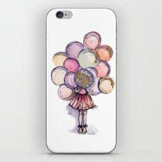 Float Away // Fashion Illustration iPhone & iPod Skin