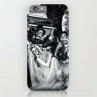 iPhone & iPod Case featuring Day Of The Dead Wedding Couple by diane555