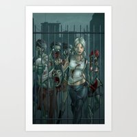 Zombie Slayer Art Print