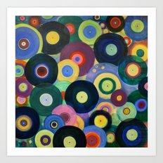Record High Art Print