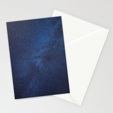 OUR DESTINY LIES ABOVE US Stationery Cards