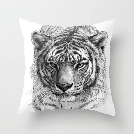 Tiger SK0102 Throw Pillow