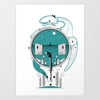 A Legend of Water Art Print