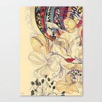 jardineira Canvas Print