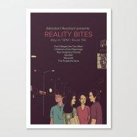 Reality Bites Canvas Print
