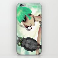 Punk N' A Bird iPhone & iPod Skin